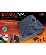 Heated Foot Warmer Black Cozy Toasty Toes 105 Watt 120 Volt New and Impr... - $69.99