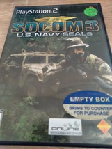 Sony PS2 SOCOM 3: US Navy Seals (no manual) image 1