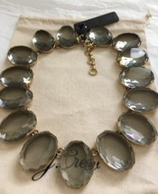 NWT 100% Authentic J Crew Jewelry Oversize Gem Statement Necklace in HTH... - $45.99