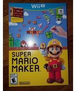 Super Mario Maker - Nintendo Wii U, (Wii U) 2015 - $69.99