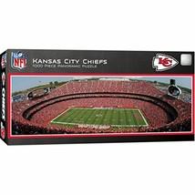 MasterPieces NFL Kansas City Chiefs Stadium Panoramic Jigsaw Puzzle, 1000 - $20.09