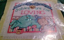 Dimensions 72368 Loving Babies Cherished Charms Counted Cross Stitch 199... - $17.43