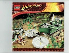 LEGO Indiana Jones 7626 nstruction Booklet Manual ONLY - $5.00