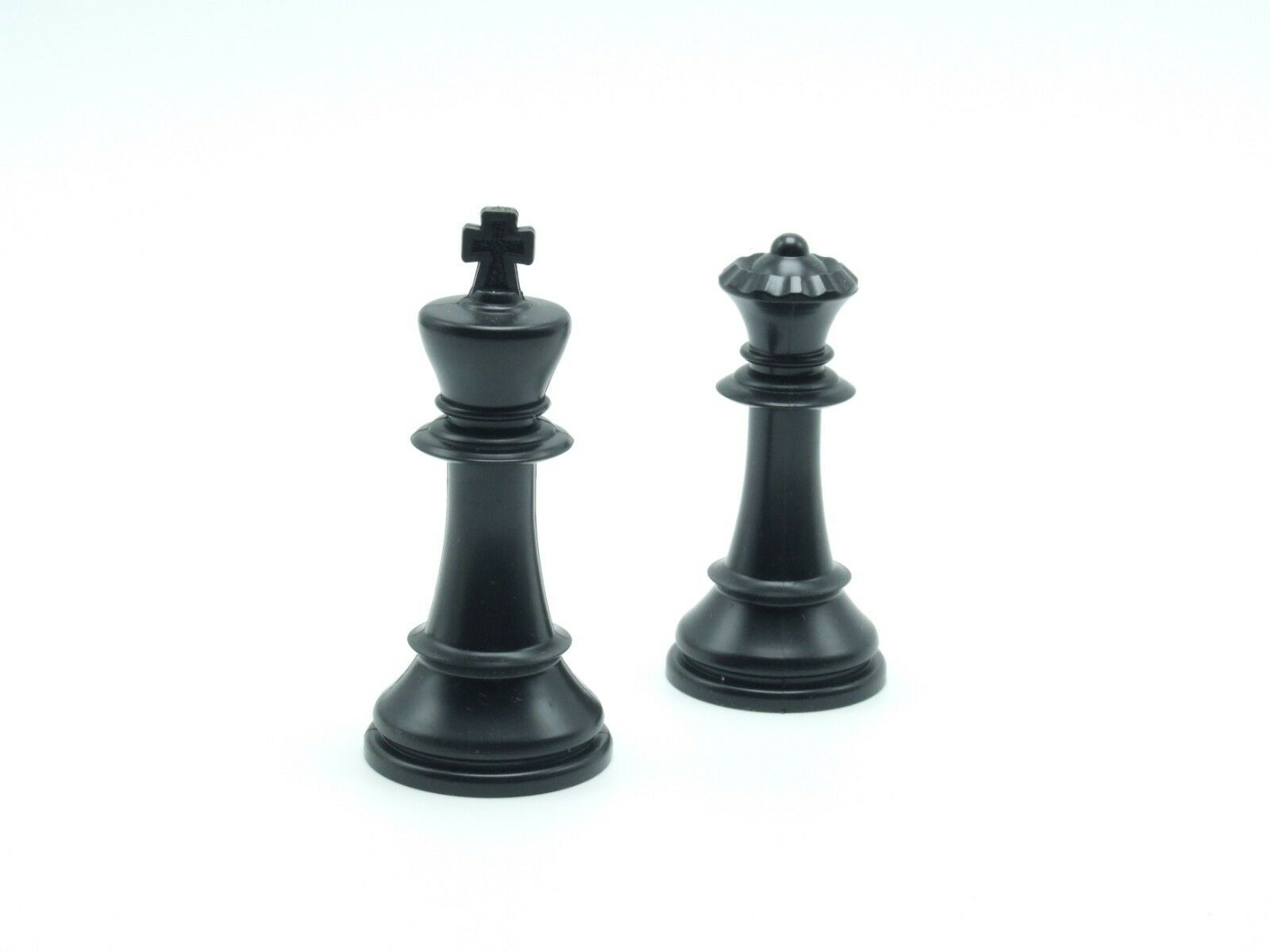 Primary image for Chess Men Staunton Replacement Black King & Queen Chess Piece Part 4807