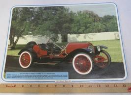 1915 Stutz Model 4F Bearcat Car Photograph Picture Laminated Advertisement - $12.86