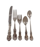 Burgundy by Reed & Barton Sterling Silver Flatware Set 12 Service 66 Pcs Dinner - $6,311.29 CAD