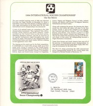 USPS, 50 Cent Stamp, International Soccer, Commemorative Society, 1st Da... - $2.96