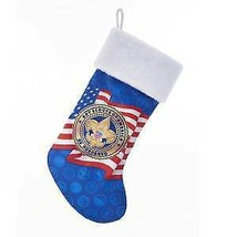 Boy Scouts Of America Red, White and Blur Satin Printed Stocking w - $17.99