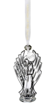 Waterford ANGEL 2018 Clear Crystal Christmas Annual Ornament NEW in Gift Box