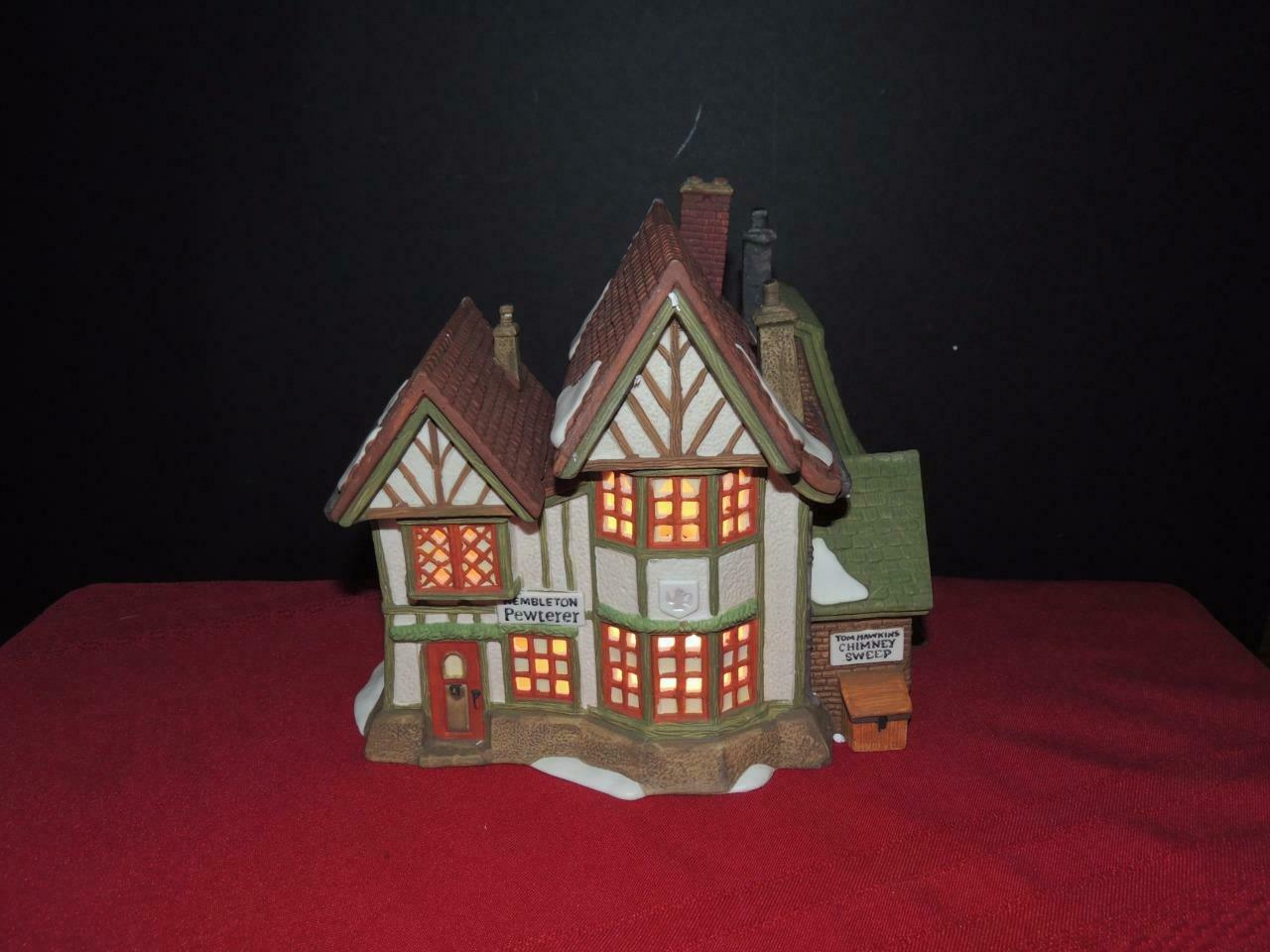 Primary image for Dept 56 Dickens Village Hembleton Pewterer #58009-PB super sale