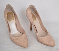 Christian Dior Miss Shoes Nude Beige Snake Print Pumps High Heel 36.5 Womens - $118.80