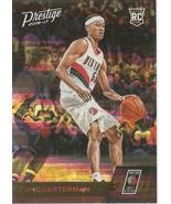 Tim Quarterman Prestige 16-17 #195 Horizon Rookie Card Portland Trail Bl... - $1.25