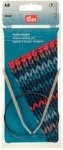 PRYM 211260 Circular knitting needles, aluminium, 40cm, 4.00mm, grey - $15.60 CAD