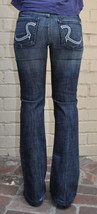 ROCK & REPUBLIC Jeans  Roth Radion Crystal  Bootcut Blue 27  Womens - $39.52