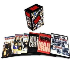 Major Crimes Complete Series Seasons 1 2 3 4 5 6 DVD Collection New Box ... - $45.00
