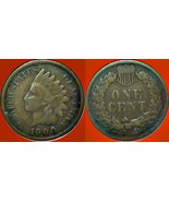1900 1c INDIAN HEAD CENT VG - $3.95