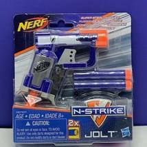 Nerf N strike jolt gun hasbro soft dart new sealed 2015 mini pistol 2 bullets - $13.81