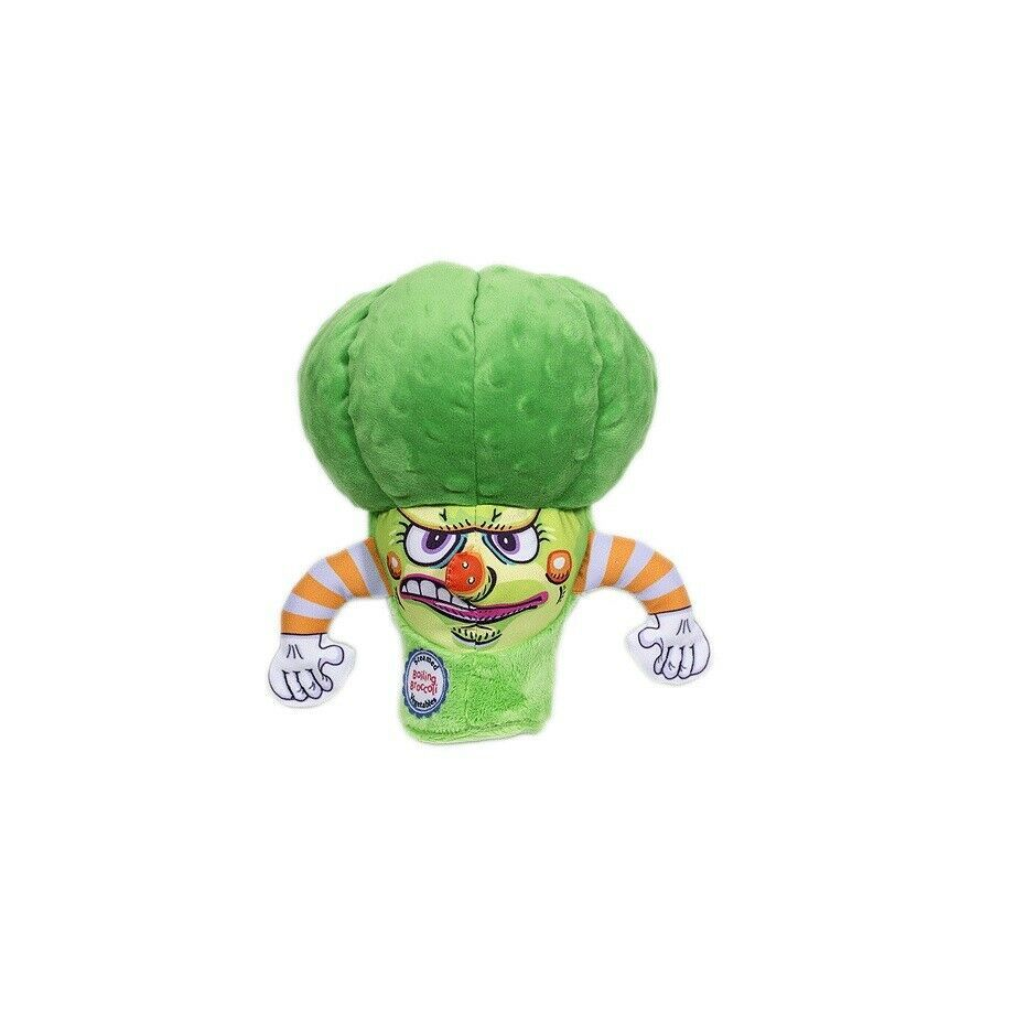 """FUZZU Boiling Broccoli for Dog Toy Impossible to resist Mean green hot head 8.5"""" image 2"""
