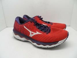 Mizuno Women's Wave Sky Waveknit 3 Running Shoe Purple Potion-White 9M - $47.49