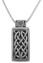 Jewelry Trends Sterling Silver Celtic Unity Knot Pendant on 18 Inch Box ... - $33.60