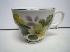 QUEEN CHARLOTTE - YELLOW FLOWERS - TEACUP ONLY - NN - $6.00