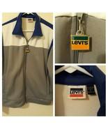 Levis Vintage 80s Workout Track Jacket Medium Lounge - $39.60