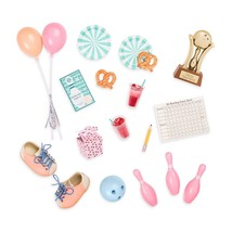 Our Generation Retro Bowling Accessory Set- For 18in Dolls - $12.99