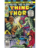 Marvel Two-In-One Comic Book #23 The Thing and Mighty Thor Marvel 1977 F... - $3.75
