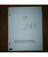 James Cameron Hand Signed Avatar Script COA Titanic - $149.99