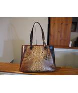 Authentic Brahmin Medium Irene Tote Toasted Embossed & Smooth Leather Ne... - $257.39