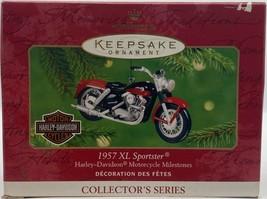 Hallmark Keepsake  1957 XL  Sportster Die Cast Christmas Ornament D92 - $11.75