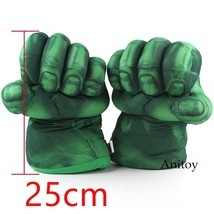 The Incredible Hulk Gloves Plush Toy Superhero Marvel Toys Hulk Cosplay ... - $24.10