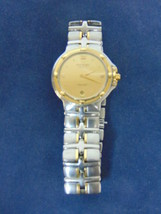 Auth Raymond Weil Parsifal Mens 18K Gold / Stainles Swiss Quartz Watch #E2094 - $1,500.00