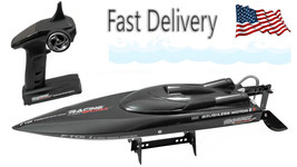 Feilun FT011 RC boat Racing 25 inch 2.4G Brush-less 55km speed racer FAS... - $125.82