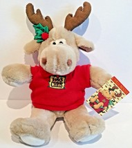 "1993 COMMONWEALTH 16"" VINTAGE CHRIS MOOSE STUFFED ANIMAL PLUSH TOY - NEW! - $26.04"