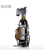 Tooarts Puppy Wine Rack with Music Band Modern Animal - $49.95