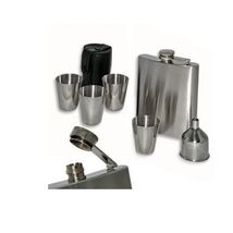 7 Piece Stainless Steel Flask Set - €32,72 EUR