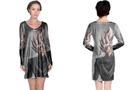 Black Goku Women's Long Sleeve Night Dress - $23.80+