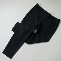 NWT Ann Taylor Gramercy Ankle in Dark Sky Blue Zip Pocket Cotton Pants 12 - $32.00