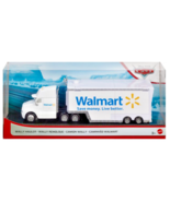 Disney Pixar Cars Walmart Exclusive White Wally Hauler Semi Trailer Truck  - $20.78