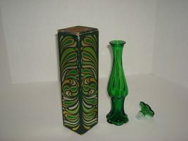 "Avon ""Emerald Bud Vase"" - $20.00"