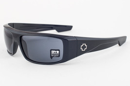 Spy Logan Shiny Black / Gray Sunglasses - $126.42