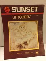 "Sunset Stitchery Doll Embroidery Kit Sarah 2866 Size 12"" With Dress 15"" ... - $12.19"
