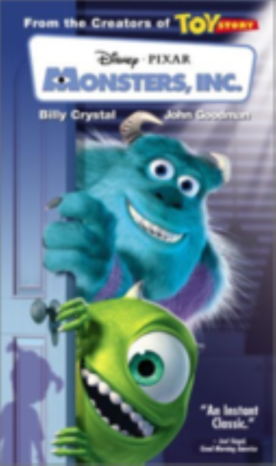 Monsters, Inc .Vhs