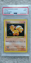 Pokemon Vulpix 68/102 1st Edition Base Set PSA 9 1999 Pokemon Game Shadowless - $44.95