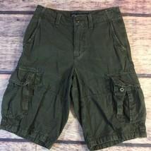 American Eagle Shorts Mens Size 26 Gray Longboard Cargo - $342,33 MXN