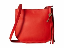 New Fossil Women Brooklyn Leather Small Crossbody Bag Chili Pepper - $98.00