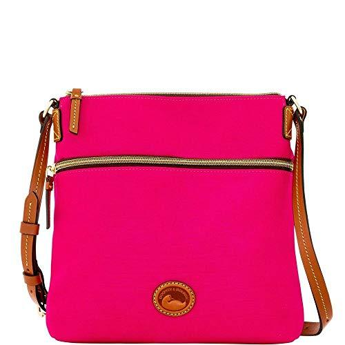 Dooney & Bourke Nylon Crossbody Fuchsia