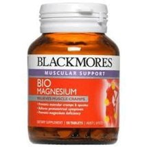 Blackmores Bio Magnesium helps strengthen bones and teeth of a 50 tablet - $35.54