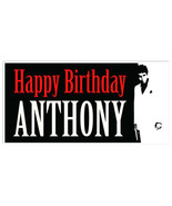 Scarface Movie Film Birthday Banner Party Decoration Backdrop - $22.28+
